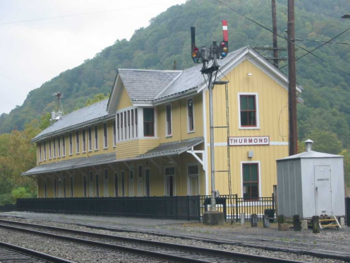 Restored Thurmond Train Depot